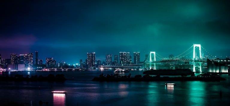 Japanische Skyline