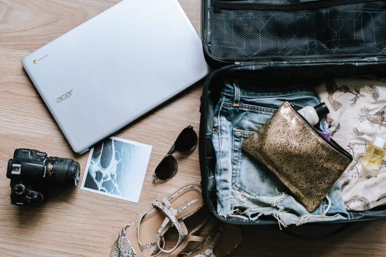 Reisevorbereitung, Kofferpacken