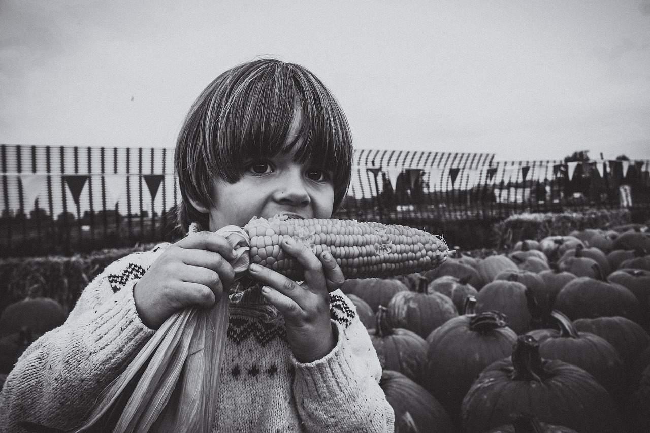 Kind - Bauernhof