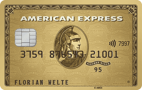Gold Card von American Express
