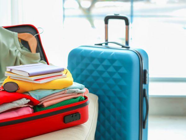 Koffer mit 4 Rollen